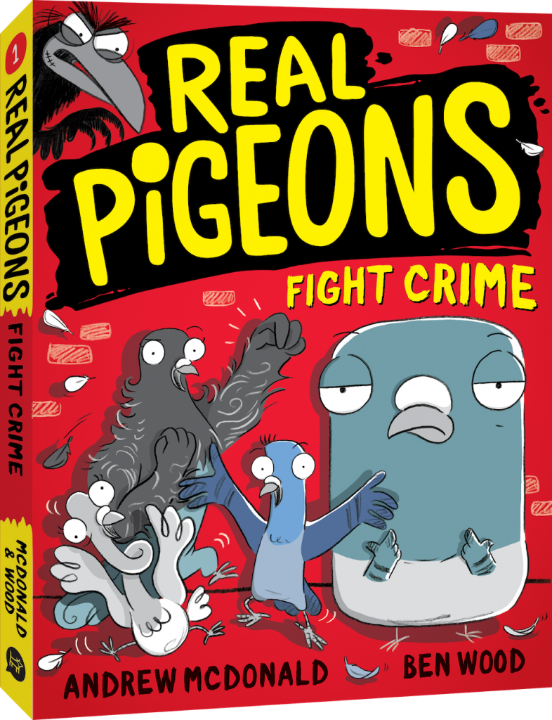 Real Pigeons Fight Crime book cover