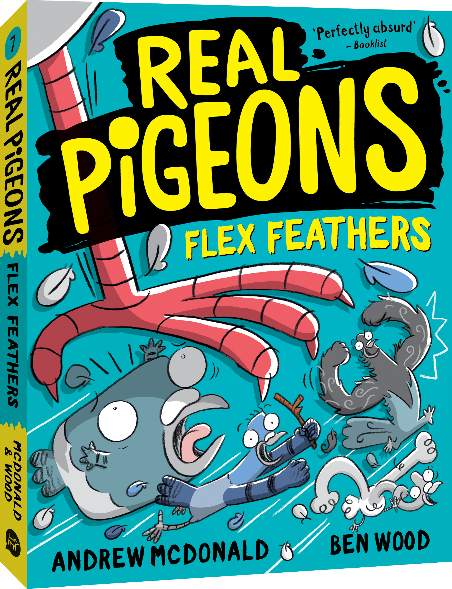 Real Pigeons Flex Feathers cover